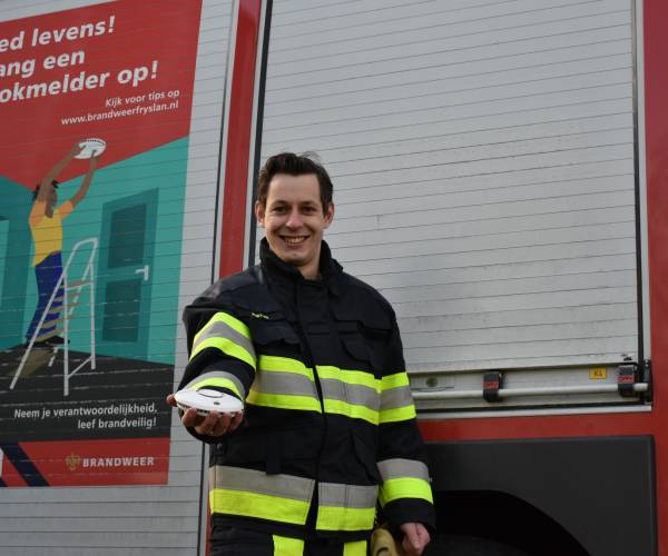 Meer woningbranden in 2020, maar niet in Fryslân
