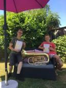 Leerlingen leggen hoogste muziekexamen af