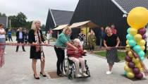 Officiële opening zorgcentrum De Finke in Koudum