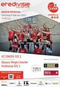Dames VC Sneek spelen morgen thuiswedstrijd tegen Djopzz Regio Zwolle