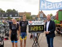Triatlon Witmarsum ondanks coronamaatregelen een succes