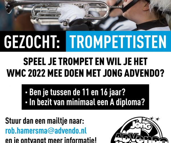 Jong Advendo zoekt jonge trompettisten