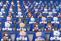 Abe Lenstra stadion vol teddyberen levert KiKa 3 ton op