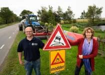 Startsein voor Friese campagne 'Modder op de weg'