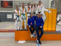 11 judoka's Sportcentrum Akkermans naar NK JUDO