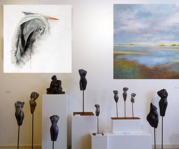 Nieuwe expositie in Galerie Lytse Skientme Koudum