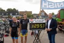 Stefan de Jong en Yvonne Hiemstra winnaars 3e Súdwest Fryslân Triatlon Cup