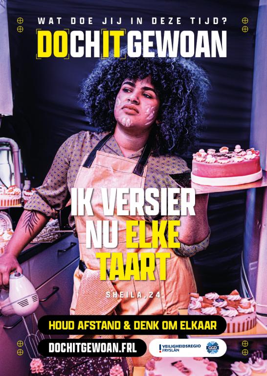 Fotobijschrift: Posters van de campagne DOchITgewoan.