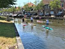 Stand Up Paddle Elfstedentocht zaterdag van start