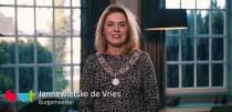 Digitale nieuwjaarstoespraak burgemeester Jannewietske de Vries