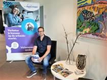 """""""Geniet van het leven en probeer alles elke dag iets beter te doen als de dag ervoor"""", aldus Jacob de Vries van ROC Friese Poort volwassenenonderwijs"""