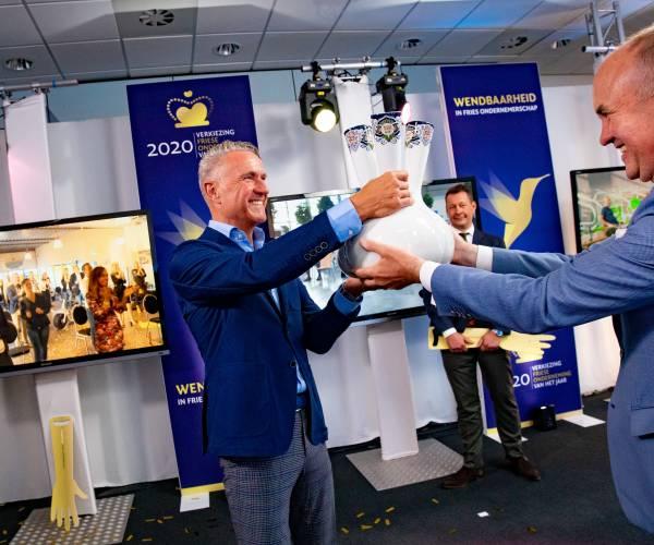Friesland Lease uit Drachten uitgeroepen tot Friese Onderneming van het Jaar 2020