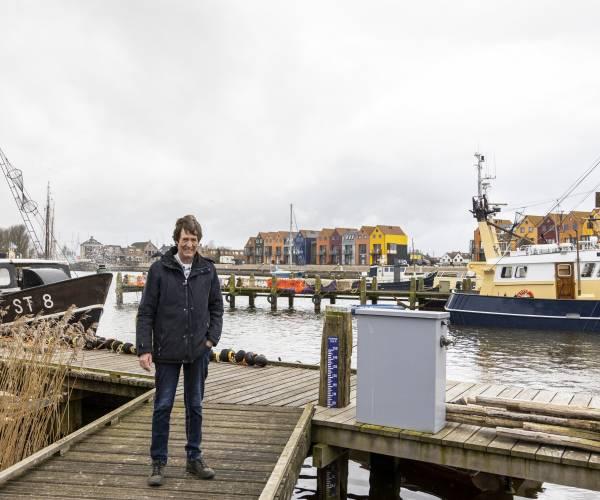 Jan van der Veen, havenmeester van Stavoren