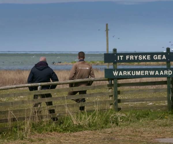 'Maitiidsswalken' langs het IJsselmeer: een dynamisch gebied