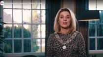 Video: Burgemeester Jannewietske de Vries blikt terug en kijkt vooruit in haar nieuwjaarstoespraak.