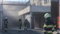 Brandweer Wommels blust meterkastbrand