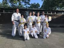 Bolswarder karateka's geslaagd voor examen