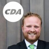 Bauke Dam nieuwe CDA-wethouder in Súdwest-Fryslân.