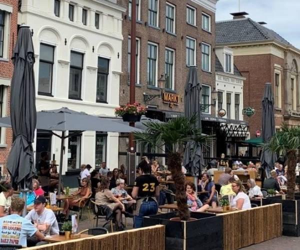 Verlenging uitbreiding terrassen tot 1 juni 2022