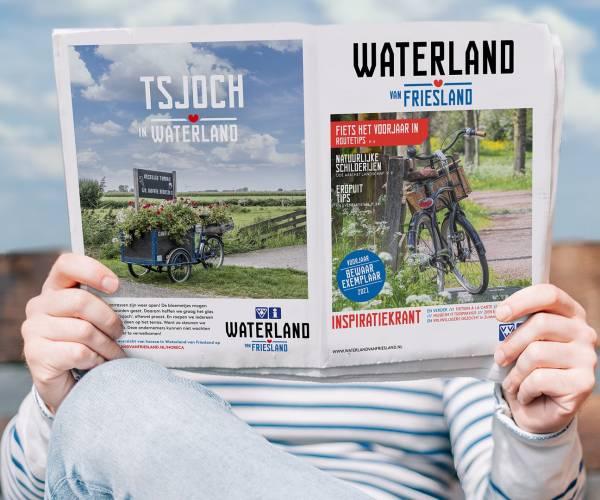 VVV in Súdwest-Fryslân komt met speciale coronakrant