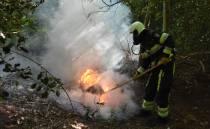 Kans op natuurbrand onverminderd groot