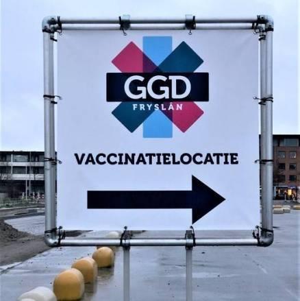 Tot nu toe zo'n 38-duizend Friezen gevaccineerd, locatie Sneek volgende week open